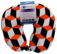 Low Cost Insurance Plan For The Welfare Of Your Loved Ones Neck Support Air Car Travel Pillow Orange Black Geometric Microbeads Relaxation Kids Pillows, Blue Pillows, Car Travel, Travel Bags, Air Car, Neck Pillow Travel, Blue Polka Dots, Travel Accessories, First Love