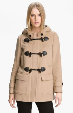 Burberry Brit 'Mawdsley' Toggle Front Wool Coat | Nordstrom....LOVE LOVE LOVE my new coat!!!