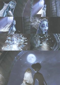 Ending scene of Corpse Bride