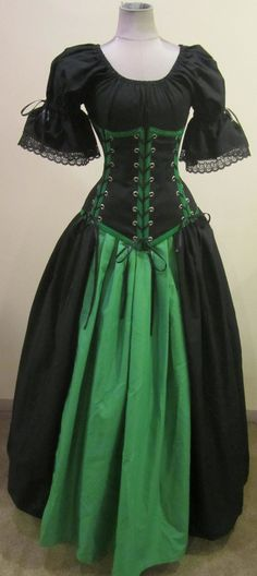 The Vixen - renaissance clothing medieval costume