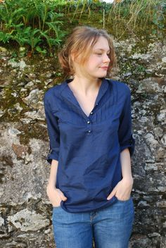 Blouse Carme par moun - thread&needles