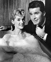 Connie Stevens and James Garner, Maverick.