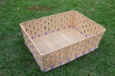 Check out this item in my Etsy shop https://www.etsy.com/uk/listing/229850022/macrame-basket-big-weaving