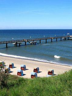 Baltic Sea, Rerik, Germany - Ostsee Seebrücke by fotogake, via Flickr