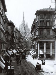 Milan, 1901 Art Print