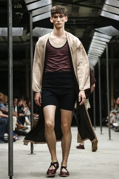 People should just start dressing like this. The future is here y'alllll | Dries Van Noten Menswear Spring Summer 2015 Paris