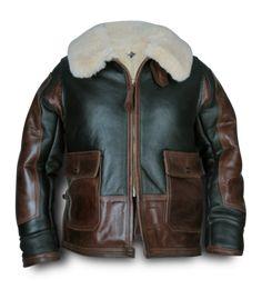 Aero Leather ANJ-4 - two tone