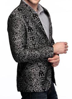 Embroidered Blazer