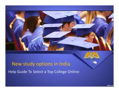 Study options in india