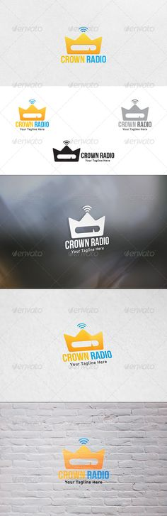 Crown Radio - Logo Template