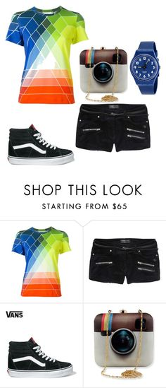 """""""Untitled #28"""" by pyper-77 ❤ liked on Polyvore featuring Mary Katrantzou, Scotch & Soda, Vans, Swatch, women's clothing, women, female, woman, misses and juniors"""