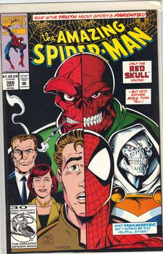 Amazing Spider-Man 366 A, Sep 1992 Comic Book by Marvel Amazing Spiderman, Amazing Spider Man Comic, Marvel Comic Books, Comic Book Heroes, Comic Books Art, Comics Spiderman, Marvel Dc Comics, Amazing Fantasy 15, Mark Bagley