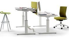 Mobility: la nueva mesa de oficina regulable by Actiu