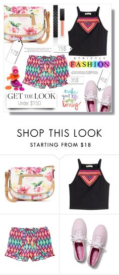 """""""Get the Look: Weekend Style Under $150"""" by fashion-rebel-chic ❤ liked on Polyvore featuring Apt. 9, H&M, Victoria's Secret, Keds, Gucci, GetTheLook, polyvoreeditorial, polyvorecontest and polyvorefashion"""