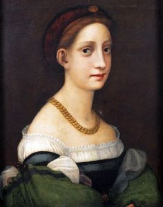 Portrait of a woman by a follower of Pontormo, c. early 16th century
