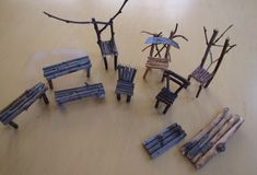 How to make fairy furniture from twigs
