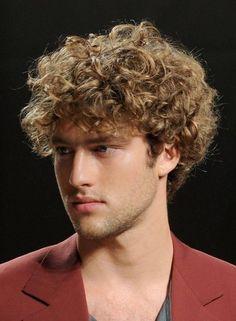 homem cabelo cacheado corte - Pesquisa Google