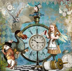 Story time!!!  Alice's Toy Theater by Mister Whiskers