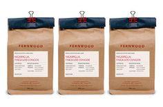 Fernwood Coffee by Glasfurd and Walker, via Behance