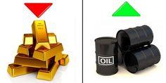Nuovo crollo dell'Oro e rialzo del Petrolio