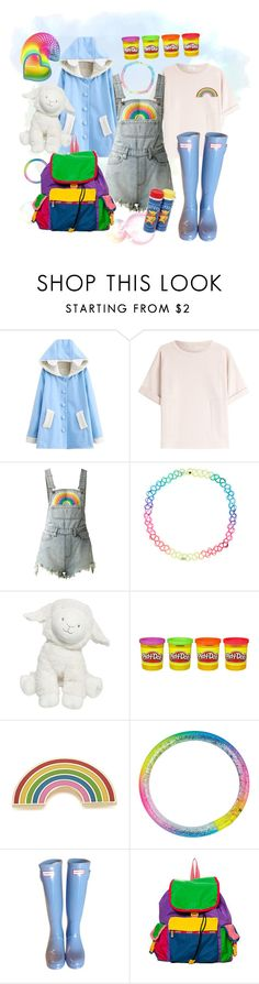 """""""Broken Hiatus"""" by prince-galacta ❤ liked on Polyvore featuring Brunello Cucinelli, UNIF, Accessorize, Tartine et Chocolat, Georgia Perry, Hunter and LeSportsac"""