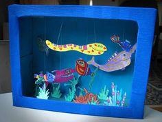 """Euer Kind hat in der ungemütlichen Jahreszeit Geburtstag? Ihr wollt mit der Festgesellschaft nicht schon wieder in den Zoo oder ins Aquarium? Na – dann holt Euch das Aquarium doch einfach nach Hause: Mit dem Motto """"Unter Wasser""""! Zur Dekoration bietet sich hier alles an, was blau oder grün ist: Blaue Tücher an den Wänden und über den Möbeln, blaues Glitzerpapier auf den Tischen, ..."""