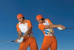 Rickie Fowler: Steal My Feel  Hit balls with your eyes shut