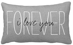 Muyankissu inches Cotton Linen Standard Pillowcase Home Decorative Cushion Case Rustic Gray I Love You Forever Pillow Cover for Valentine's Day Father's Day Throw Pillow Cases, Pillow Covers, Cuddle Quotes, Family Room Decorating, Flower Pillow, I Love You Forever, Boho Pillows, Cotton Linen, Decorative Throw Pillows