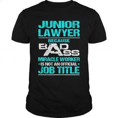 JUNIOR-LAWYER - #fashion #cotton t shirts. GET YOURS => https://www.sunfrog.com/LifeStyle/JUNIOR-LAWYER-115952590-Black-Guys.html?60505                                                                                                                                                      More