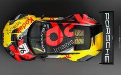 Livery Kodak Images for their Porsche 911 GT3 R