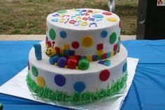 Baby Einstein Cake - Caterpillar (One theme idea for Ricky's bday) Boy Birthday Parties, 2nd Birthday, Birthday Cakes, Birthday Ideas, Baby Einstein Party, Big Cakes, Cookie Decorating, Decorating Ideas, Cake Smash