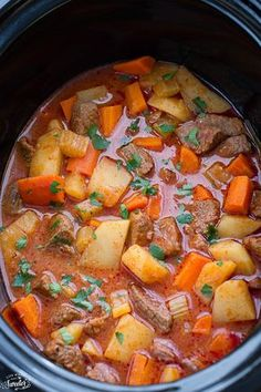 Slow Cooker Beef Stew FoodBlogs.com