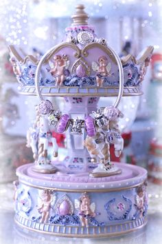 Pandora Carousel charm