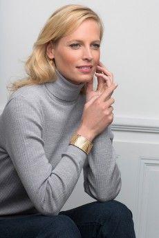 ffedd0a792cf Le pull chaussette femme métal 100% pure laine vierge mérinos. Fabrication  française.
