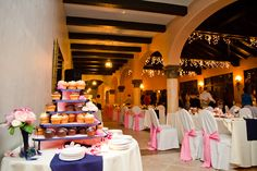 It's all about the dessert bar!