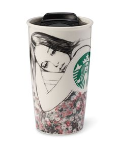 Coffee cup by Charlotte Ronson for Starbucks