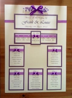 wedding seating plan board - Google Search