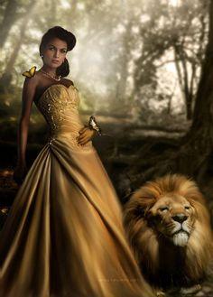 Beauty and the Beast by Phatpuppyart-Studios.deviantart.com on @deviantART