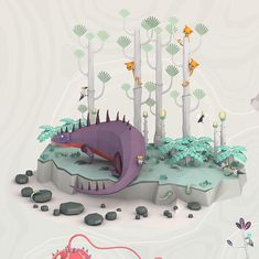 Roots by Erwin Kho, via Behance