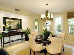 Elegant Dining Room : Color Design Art : Dining Rooms : Pro Galleries : HGTV Remodels