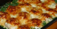 CHICKEN BALLS WITH OVEN CREAM SAUCE- If you want to make chicken, chicken balls with creamy sauce and chicken balls illustrated chicken recipe. We are again with a foreign Chicken Recipe from the chicken dishes. From chicken breast meat… Meat Loaf Recipe Easy, Meat Recipes, Chicken Recipes, Cooking Recipes, Recipe Chicken, Cooking Time, Chicken Balls, Oven Chicken, Russian Recipes