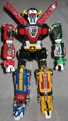 Screw Power Rangers! Voltron did it first and better! (This is the one I had.)