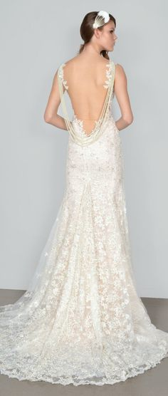 Galia Lahav Spring 2015 : La Dolce Vita Bridal Collection    bellethemagazine.com