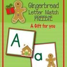 A gift for you!    This gingerbread letter match freebie will be a great addition to your gingerbread-themed unit.  Use the full set of uppercase and...