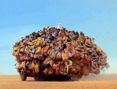 now these guys know how to load a car.