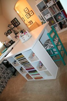 GREAT craft room!