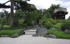 The Japanese garden at Kew Gardens