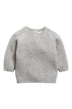 Moss-stitch jumper | H&M