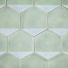 The Design Edit: 10 Gorgeous Room-Transforming Tiles - These Casa hexagonal tiles by Marrakech Design can be arranged in a variety of ways. Mosaic Tiles, Wall Tiles, Cement Tiles, Tiling, Hex Tile, Hexagon Tiles, Grey Tiles, Subway Tile, Deco Design