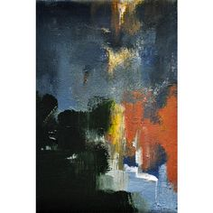 Daily Painters Abstract Gallery ❤ liked on Polyvore